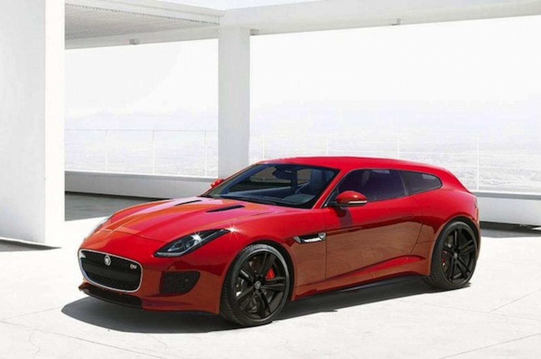 Jaguar F-Type Sportbrake: Steaming Molten Lava Hot