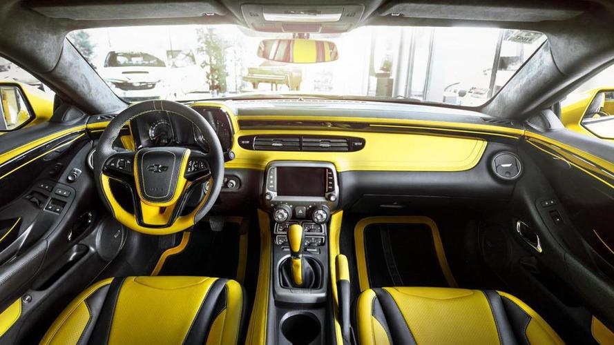 Chevrolet Camaro ZL1 receives a matching interior from Carlex Design