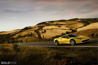 Wheels Wallpaper: Ferrari 458 Italia