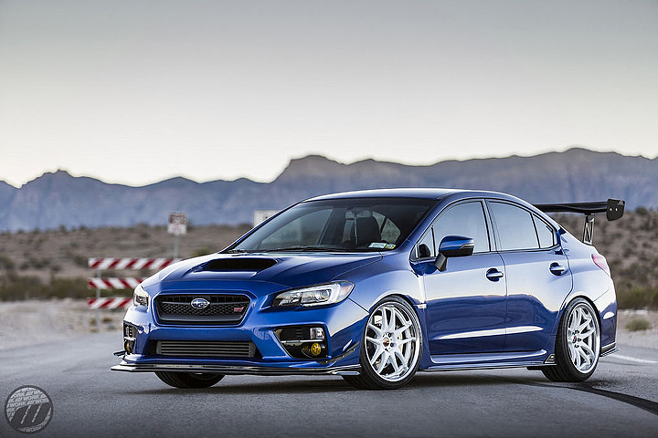 This Subaru WRX STI is a Show Car Worth Showing Off