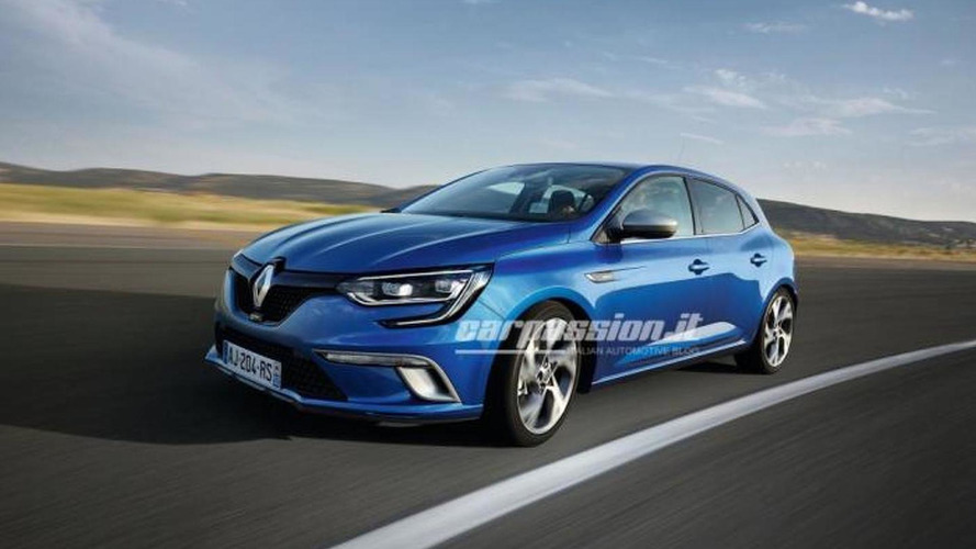 Renault Megane first official images leaked!