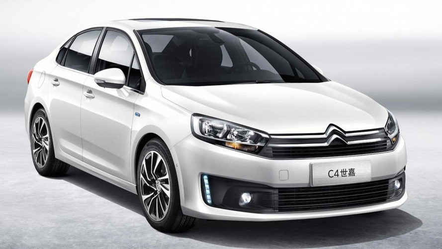 Citroen C4 Sedan for China previewed ahead of Chengdu Motor Show, replaces C-Quatre