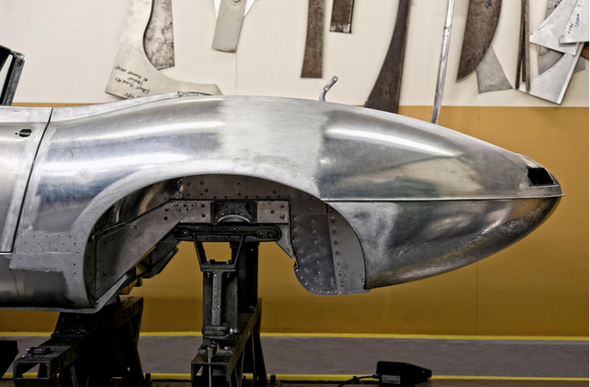 "Jaguar is Building Six ""Missing"" E-Type Lightweights"