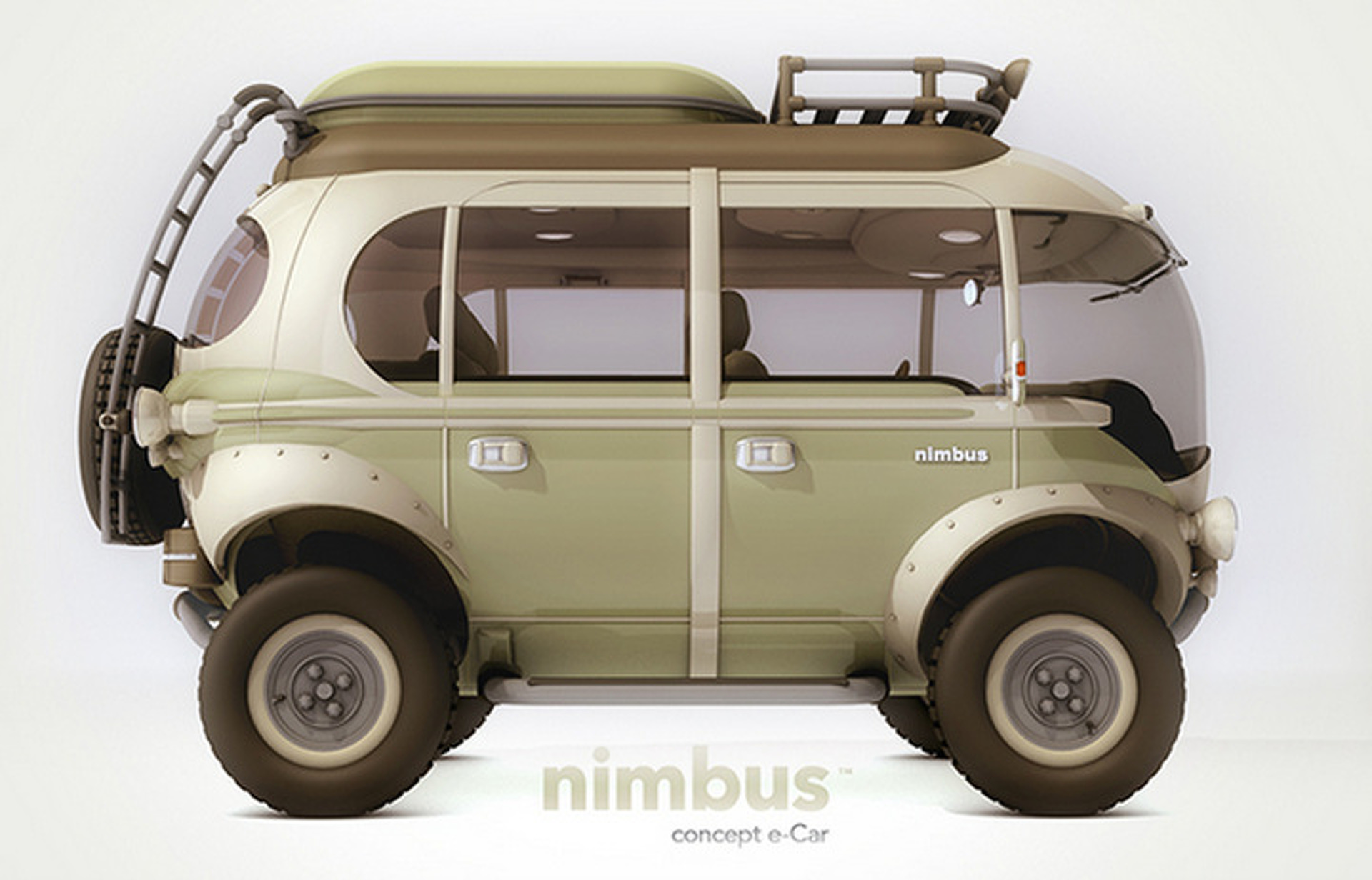 The Nimbus Concept Is A Futuristic 4x4 Take On The Vw Bus