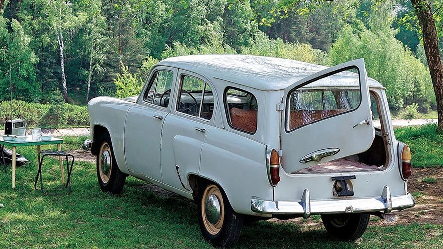 Soviet Bloc Cars Were Weird: Moskvitch 402/403/407