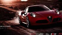 Alfa Romeo 4C online configurator screenshot