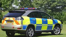 Lexus RX400h Hybrid UK Police Car