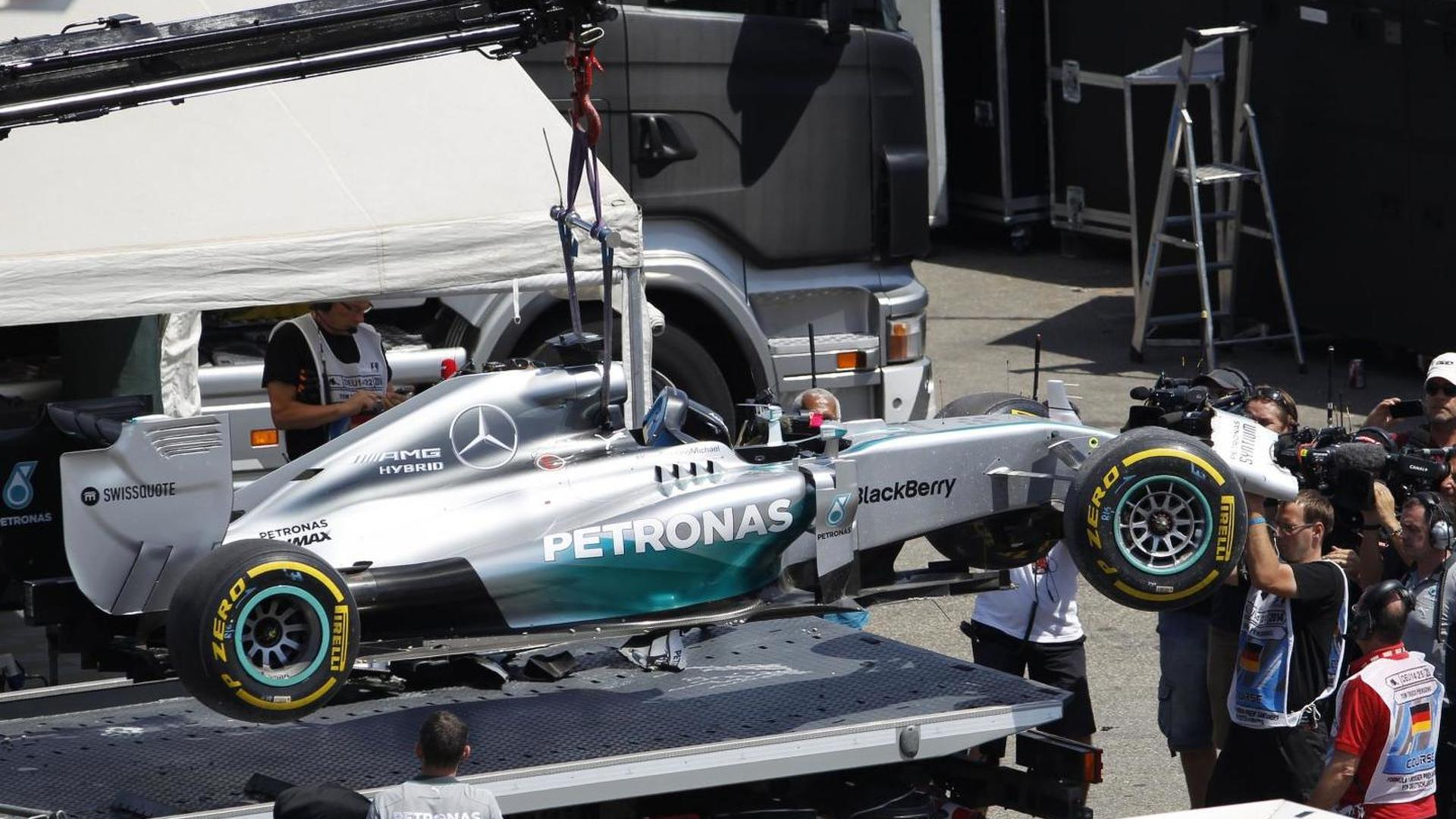 Hamilton heads for therapy after Hockenheim