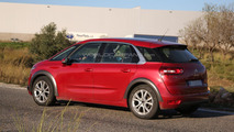 Citroen C4 Picasso spy photo
