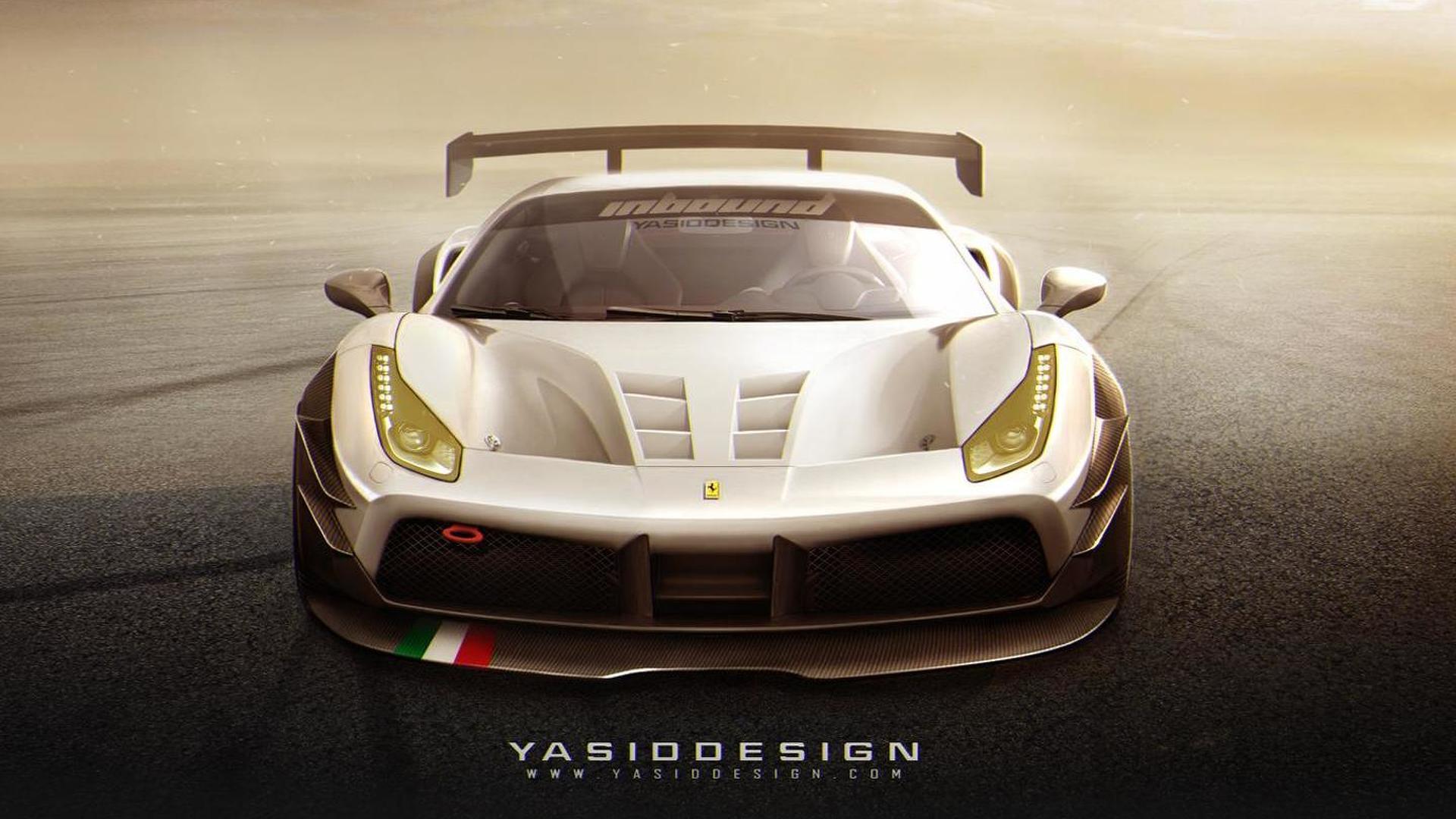 WCF reader envisions track-only Ferrari 488 GTBX