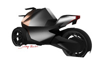 Peugeot Onyx Concept Scooter sketch