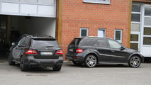 Mercedes ML63 AMG teased