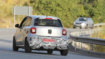 Brabus-tweaked Smart ForFour spied with light camo in southern Europe