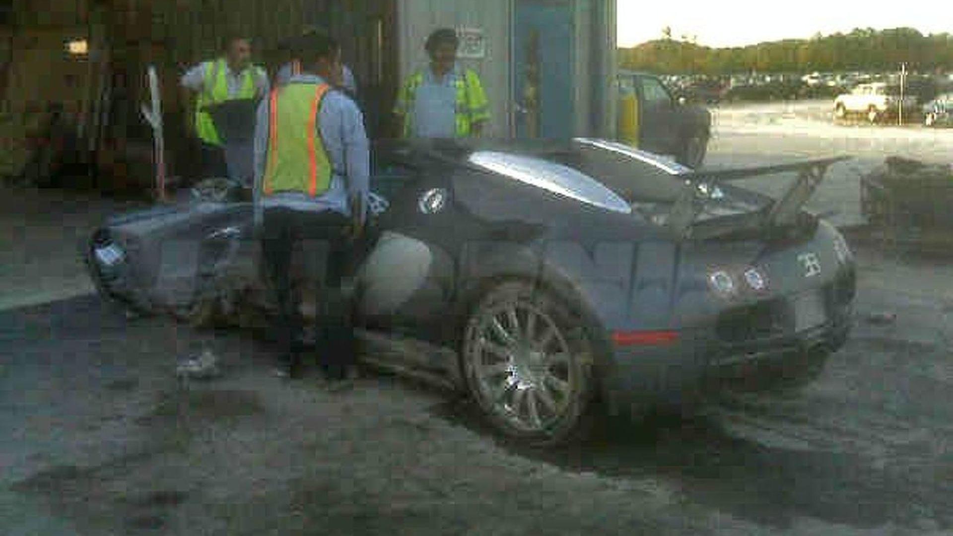 Crashed Bugatti Veyron - The Aftermath