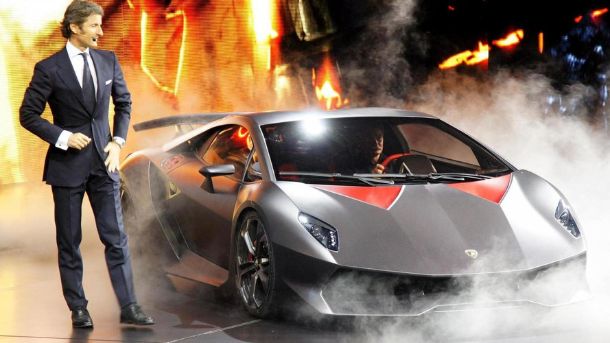 Lamborghini Sixth Element Concept officially unveiled