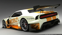 3D Rendered: Ultimate Le Mans Dodge Challenger 2009