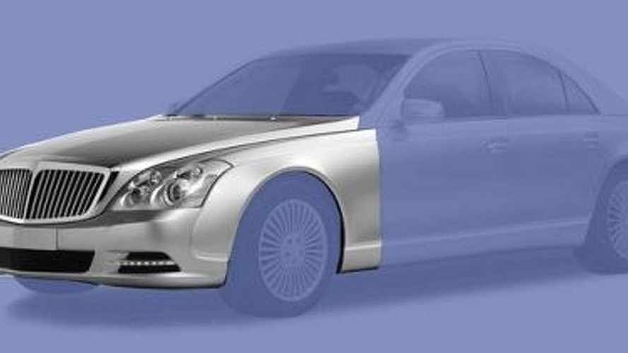 Maybach Facelift Alleged Design Illustrations Surface