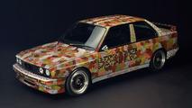 Michael Jagamara Nelson (AUS) 1989 BMW M3 Group A Race Version art car - 1600