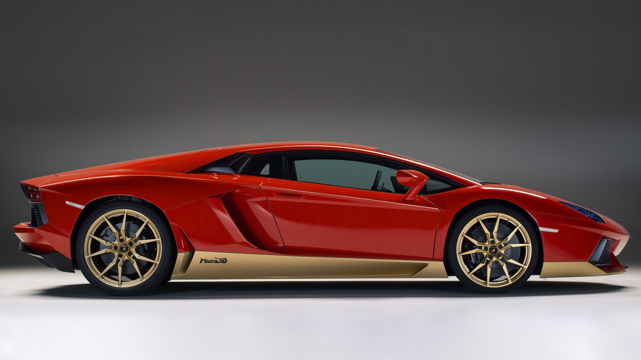 Lamborghini Aventador Miura Homage