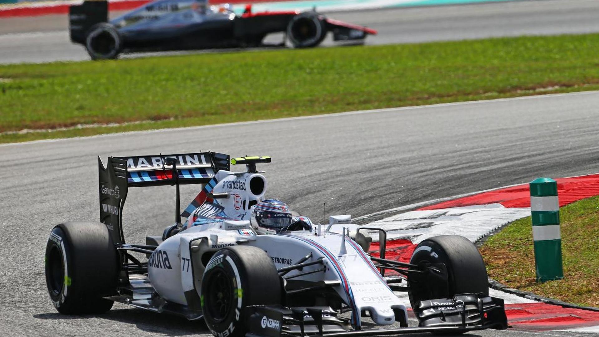 Ferrari 'much faster' than Williams - Bottas