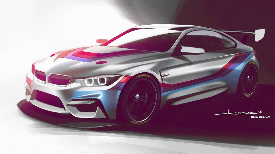 BMW announces factory-built M4 GT4 race car for 2018