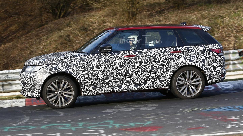 2017 - [Land Rover] Range Rover/ Sport/ SVR restylés Range-rover-sport-svr-spy-photo