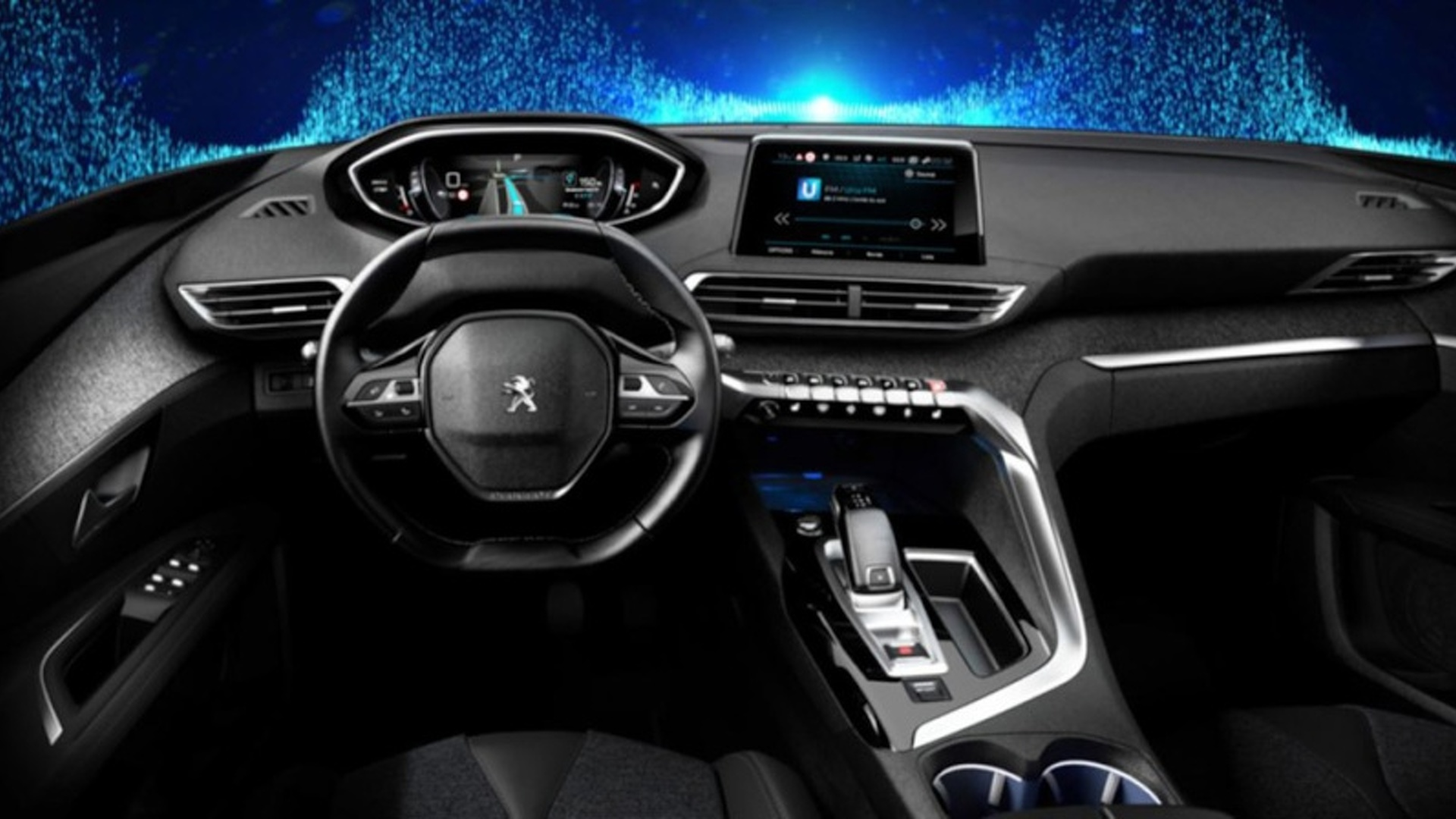 2017 peugeot 3008 official interior pics leaked 2017