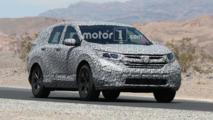 2018 Honda CR-V Spy Photos Hot Weather