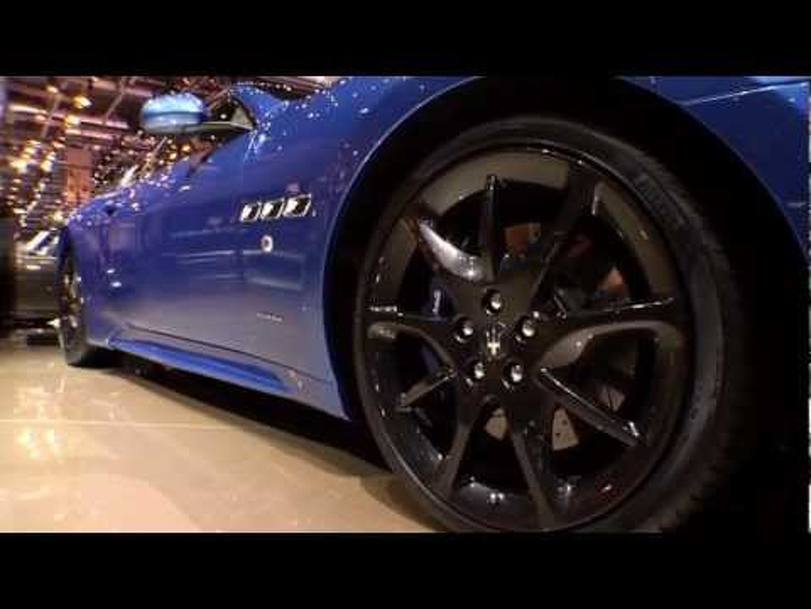 2013 Maserati GranTurismo Sport at the 2012 Geneva Motor Show