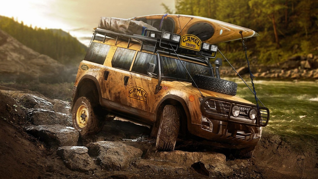 2019 Land Rover Defender Camel Trophy