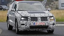 Latest Volkswagen Tiguan spy shots show slightly more details