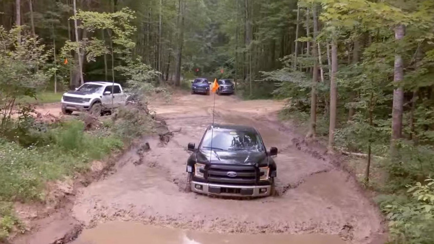 2017 Ford F-150 Raptor prototype tackles the trails of northern Michigan [video]