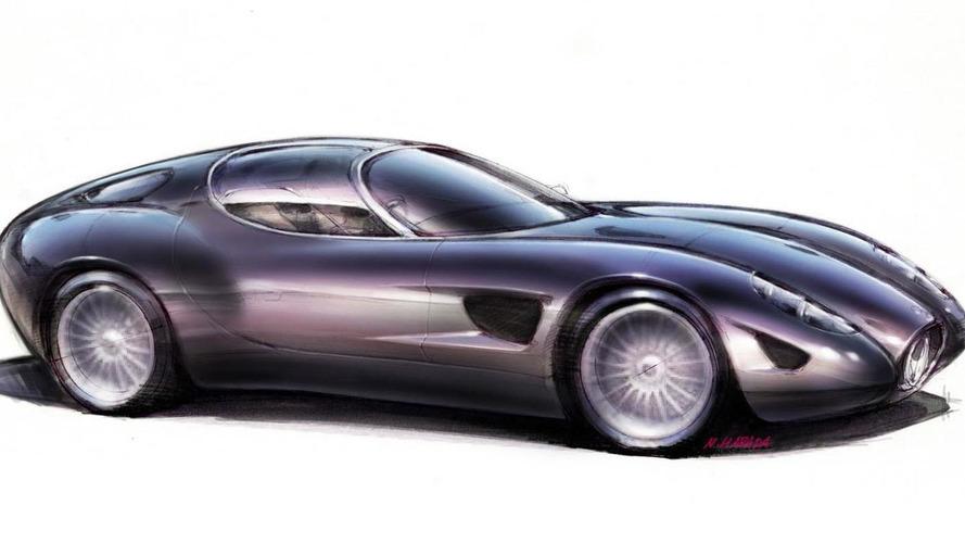 Zagato Maserati Mostro unveiled, debuts at Concorso d'Eleganza Villa d'Este