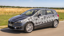 BMW 2-Series Active Tourer plug-in hybrid prototype unveiled