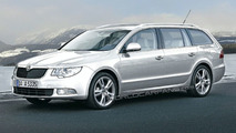 Skoda Superb Estate 2010