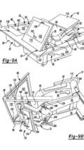 Chrysler Stow 'n Go seat patent photo