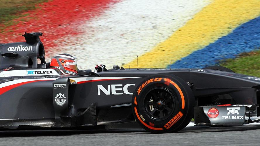 Pirelli waiting for Sauber tyre bill - report