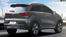 Kia KX3 concept leaked, to debut in Guangzhou