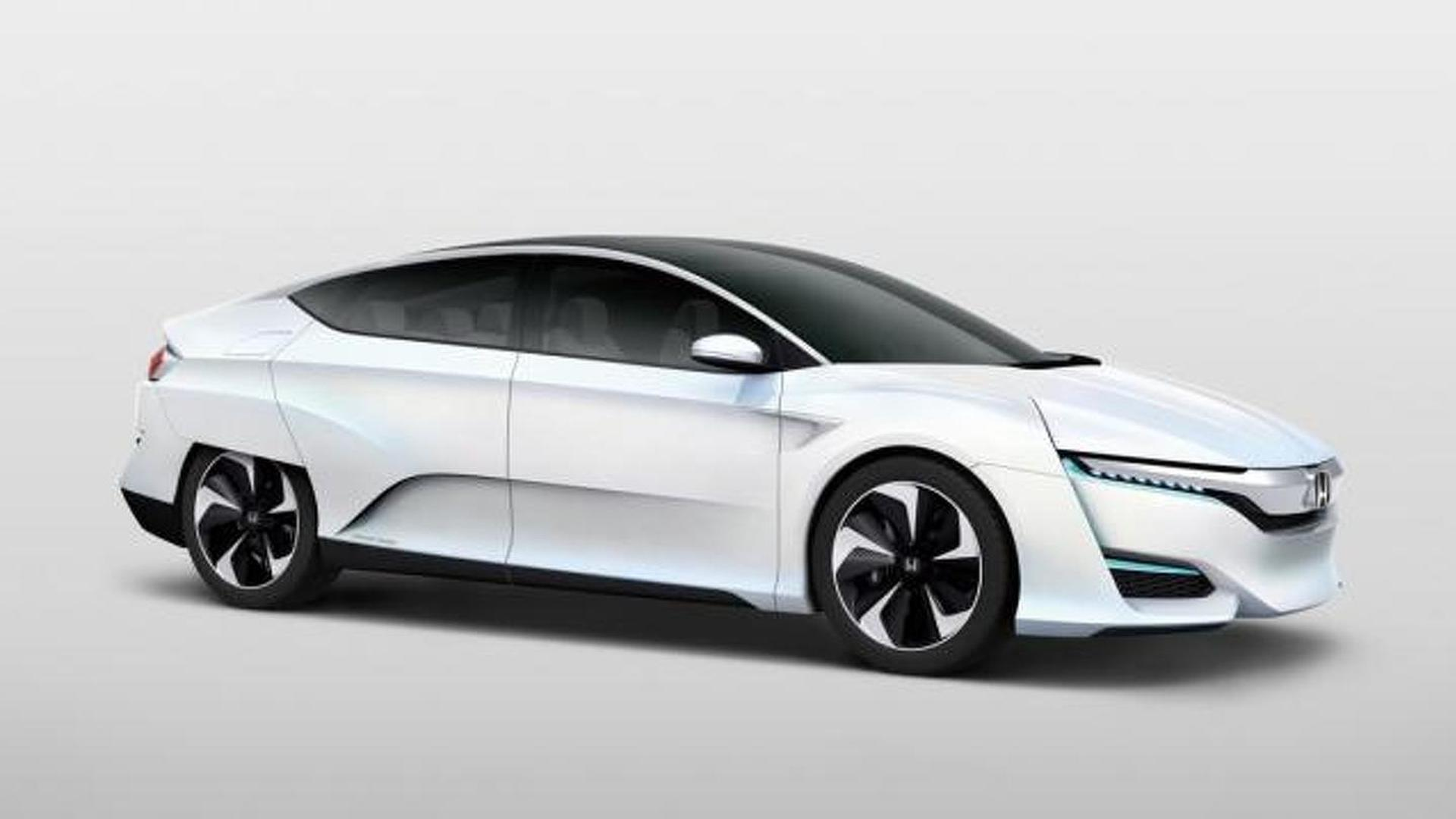 Honda FCV concept unveiled in Japan, production version coming 2016