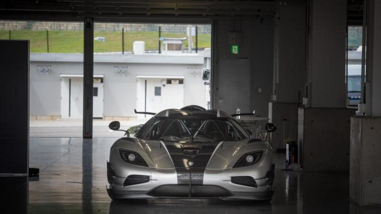 Koenigsegg One:1 at Suzuka circuit