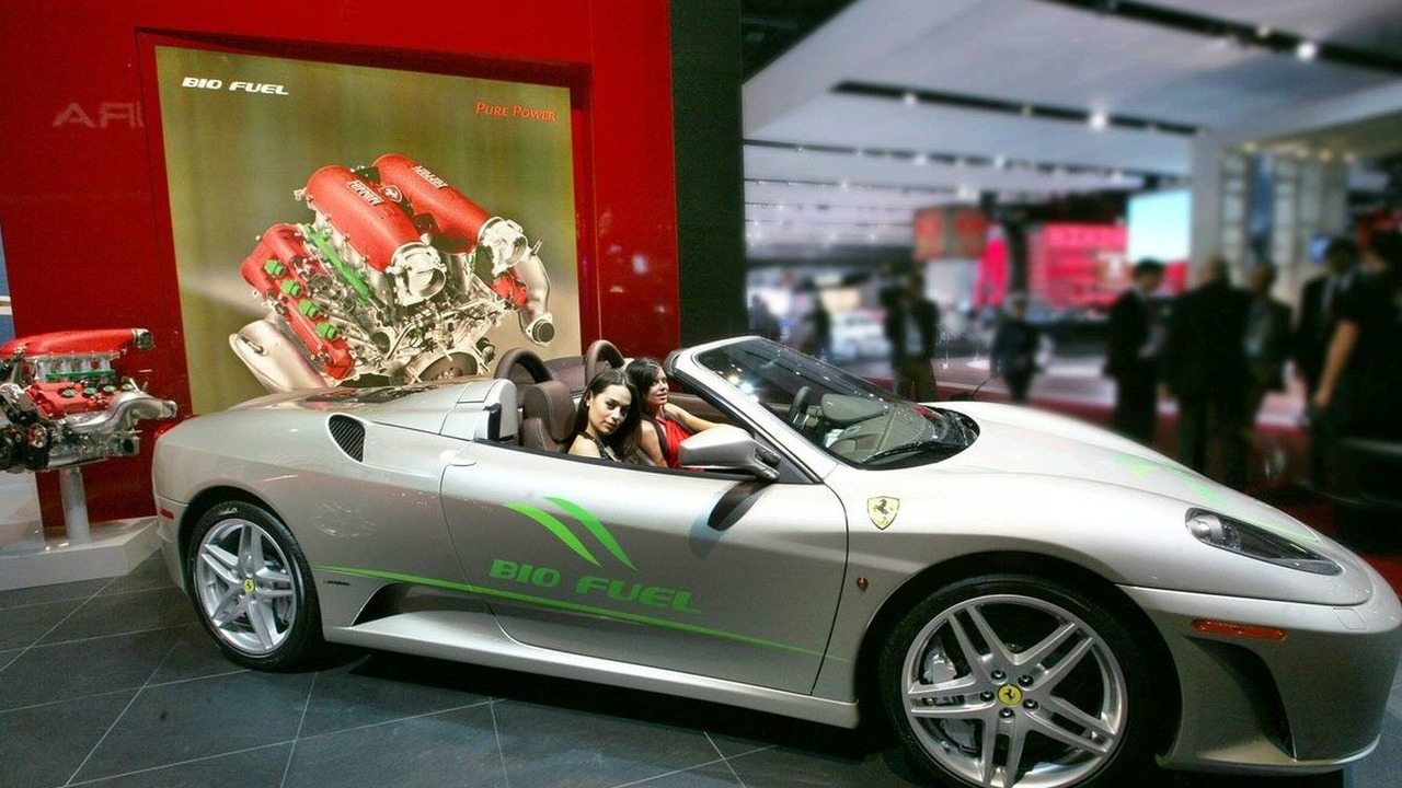 Ferrari 430 Spider Bio-fuel Concept in Detroit