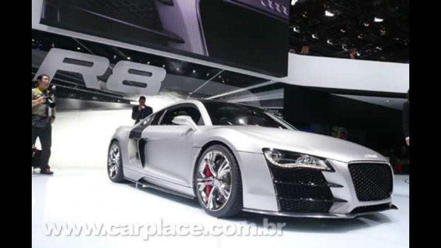 Salão de Detroit 2008: Audi R8 V12 TDI Concept de 500 CV ao vivo e a cores!!