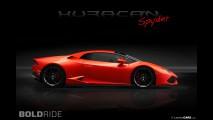 Lamborghini Huracan Spyder Concept by LamboCars
