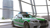 BMW M5 police car unveiled in Munich