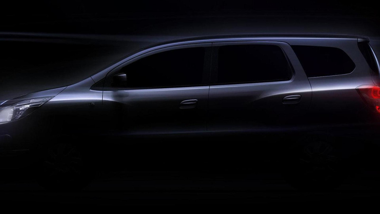 All-new 2013 Chevrolet Spin MPV teaser - unenhanced 13.06.2012