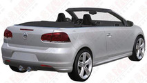 Volkswagen Golf R Cabrio hits the patent office