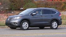 2012 Honda CR-V spied undisguised plus interior shot