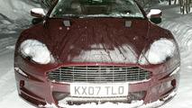 Aston Martin DBS Volante Spied