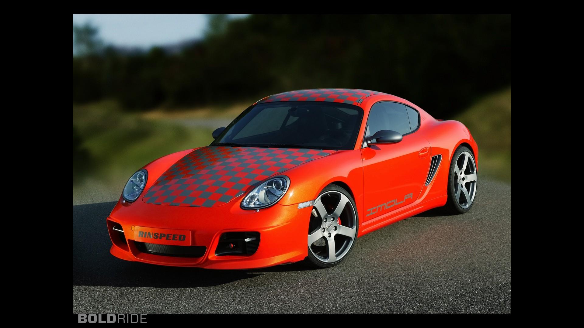 Rinspeed Porsche Imola Cayman 987
