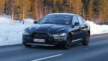 Jaguar entry-level sedan spy photo  / Automedia